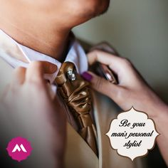 A quick look book for your Man: - Cocktail Party: A 3-piece suit with a ditsy print shirt.  - Sangeet: Mandarin collar shirt with a solid Nehru jacket. - Wedding Ceremony: A sherwani with embellished mojaris.