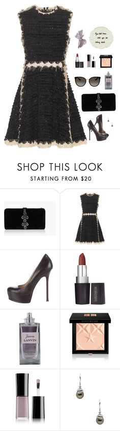 """18 / Lanvin"" by somethinglikelove ❤ liked on Polyvore featuring Dsquared2, Lanvin, Yves Saint Laurent, Laura Mercier, Givenchy, Giorgio Armani, Tara and Gucci"