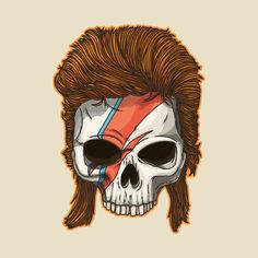 Check out this awesome 'Bowie+Skull+2' design!