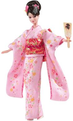 2008 Happy New Year Oshogatsu Japan Exclusive Barbie Doll