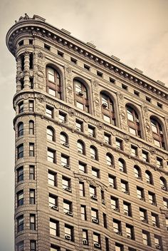 Here is what a original Flat Iron building look like. Great architecture and design applied to use up all available space when there are two intersecting roads.