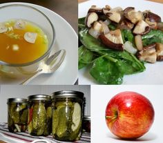 A list of appetite suppressing foods -- NOT pills!
