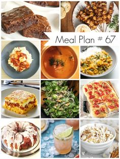 Weekly Meal Plan #67: Delicious recipes for everyone - Ioanna's Notebook