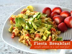 Fiesta Breakfast: Simple Solution to a Real Meal Fast!