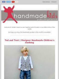 Check out this Mad Mimi newsletter- Winter at Handmade Kids  #handmadekids