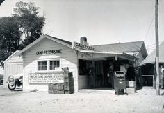 Campgrounds like this one in Cheyenne, Wyo., sprung up to serve tired travelers. (1924) http://ow.ly/r3EFG