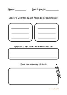 Werkblad spelling Speech Therapy, Google Drive, Spelling, Circuit, Homeschool, 1, Teaching, Education, Classroom