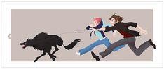 Dogwalkers by Blackunicorn777.deviantart.com on @deviantART