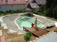 Schwimmteich bei Heilbronn - Mielke's Schwimmteiche - Spezialist für Zier-, Natur- und Badeteiche
