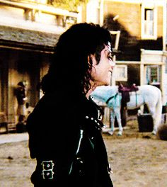 Michael Jackson in Speed Demon which appeared in his Moonwalker film. The Jackson Five, Jackson Family, Janet Jackson, Michael Jackson Bad, Invincible Michael Jackson, King Of Music, The Jacksons, Bae, Gif Animé