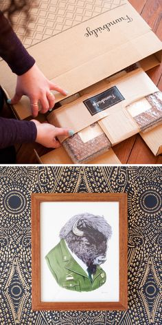 Have you had a nightmare framing experience? We started Framebridge to take the hassle out of framing what you love. Order in minutes, mail in our upload your art (shipping is free) and receive a ready-to-hang framed piece in days.