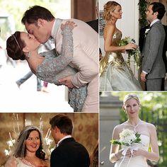 Gossip Girl Wedding Pictures | POPSUGAR Entertainment