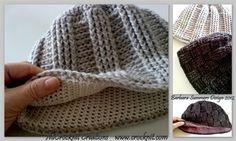 Crochet Hat SWEET DUDE - CrochetMe