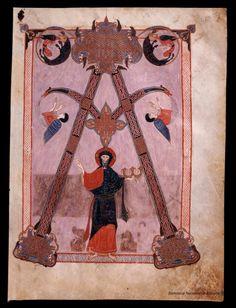 Beato de Liébana. Beato de Liébana , Santo — Manuscrito — 1047 11