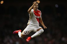 Monaco's Italian forward Stephan El Shaarawy celebrates after scoring during the UEFA Champions League third qualifying round second leg football match between AS Monaco vs BSC Young Boys at the Louis II Stadium in Monaco