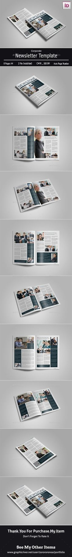 Nw  Corporate Newsletter  Brochure  Brochure Template