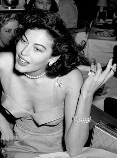 """maggiepollitts: """"  Ava Gardner, 1951. """""""