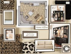 Living A Beautiful Life Interior Design Board Nicely Arranged