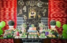 Blog Mãe de Primeira Viagem: Decoração Festa das Tartarugas Ninjas - Heitor 4…