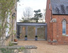 Welcome to Edge Frameless - contemporary extensions using modern frameless glass technology. Glass Walkway, Glass Porch, Glass Extension, Rear Extension, Extension Ideas, Corner House, Up House, Warren House, Cottage Extension
