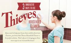 Thieves Household Cleaner: 3 Innovative Ways to Use It in Your Home | Young Living Blog