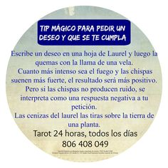 Consejo Mágico para pedir un Deseo y que se Cumpla | ~ TAROT con Margui Centeno