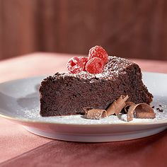 Dark-Chocolate Souffle Cake by Cooking Light Chocolate Souffle Cake, Chocolate Cake, Chocolate Covered, Dark Chocolate Recipes, Chocolate Desserts, Healthy Chocolate, Cupcake Cakes, Cupcakes, Cake Recipes