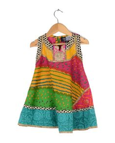 Really cute cotton batik dress, once on Exclusiveli.in under Diwali Brights