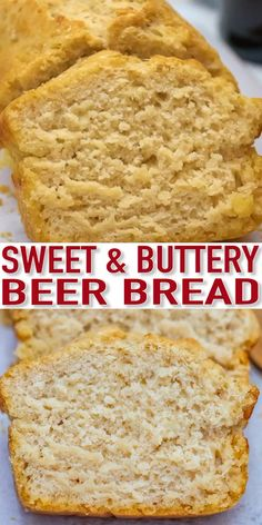 Beer Bread is a soft and flavorful bread that can be made with your favorite type of beer! recipes no yeast videos Beer Bread Recipe [Video] - Sweet and Savory Meals Bread Recipe Video, Best Bread Recipe, Easy Bread Recipes, Baking Recipes, Healthy Recipes, Beer Bread Recipe For Bread Machine, Basic Bread Recipe No Yeast, Buckwheat Bread Machine Recipe, Beer Bread Recipe All Purpose Flour