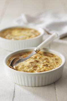 Recette Crème brulée aux Ravioles Saint Marcellin et jambon cru