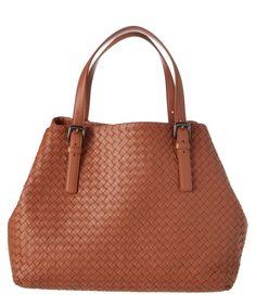 BOTTEGA VENETA Bottega Veneta Large Intrecciato Nappa Leather Tote … e29b563b8f0be