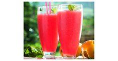 GRANIZADO DE SANDÍA Cocktails, Cocktail Drinks, Alcoholic Drinks, Limoncello Drinks, Smoothies, Sorbet Ice Cream, Frozen Drinks, Healthy Juices, Detox Drinks