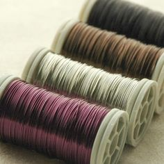 12 spools Copper wire 28 Gauge - pick your colors Copper Wire, Jewlery, Throw Pillows, Colors, Beading Techniques, Handmade Bracelets, Handmade Necklaces, Handmade Chain Jewelry, Handmade Crafts