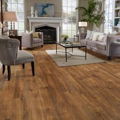 Hillside HIckory Laminate Floor - Home Flooring, Laminate Wood Plank Options - Mannington Flooring
