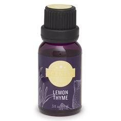 Lemon Thyme 100% Natural Oil - Fresh thyme, juicy orange and lemon beam from this bouquet like pure sunshine, itself.