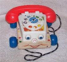 #747 Chatter Phone; my grandma had this toy at her house