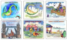 The Cedric the Seahorse series of books