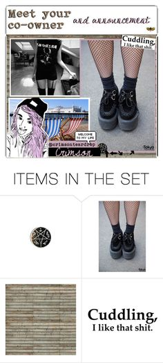 """""""Announcement/ 2nd owner"""" by outcast-tips ❤ liked on Polyvore featuring art"""