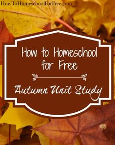 Teach your kids all about Autumn for free! Science, literature, agriculture, and more!