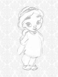 disney sketches toddler animators - Google Search