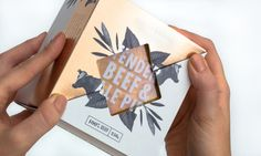 Eden & Bridge - Luxury Pie on Packaging of the World - Creative Package Design Gallery
