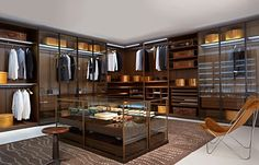 The best of luxury closet design in a selection curated by Boca do Lobo to inspire interior designers looking to finish their projects. Discover unique walk-in closet setups by the best furniture makers out there. Closet Walk-in, Dressing Room Closet, Closet Bedroom, Closet Dresser, Dressing Rooms, Closet Storage, Closet Ideas, Closet Organization, Organization Ideas