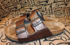 Noat Size 40 Womens 9  9.5 Slip On Leather Buckle by VintyThreads, $27.00