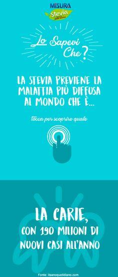 Lo sapevi che?... #stevia #nocarie