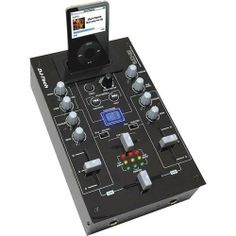 DJ-Tech 2CH / 5 input DJ mixer & iPod Audio & Video Player by DJ Tech. $91.08. 2Ch / 5 input DJ Mixer with iPod Audio Video Player * iPod Docking with Universal adaptor * Recharge iPod During Playing * Full Control interface for iPod * Video Output for iPod * 3 input incll Mic * Gain + Tone Control by Channel * 3 LED per each channel for Input info * 3 LED showing Master Output * Mic Input Jack 6,35 with Level + Tone Control * 1 x Master Output (2 RCA) * 1 x R...