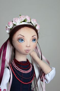 Блог Мои любимые игрушки. Анна Балябина, авторские куклы и игрушки: Оксана