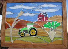 Custom farm art for my in-laws!