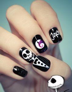 Art Bra Ideas | Easy-Halloween-Nail-Art-Designs-To-Master_31