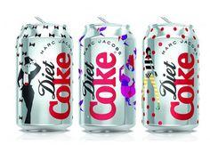 Marc Jacobs assina latas pop para Diet Coke | Chic - Gloria Kalil: Moda, Beleza, Cultura e Comportamento