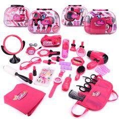 Little Girl Toys, Baby Girl Toys, Little Girls, Cool Toys For Girls, Makeup Toys, Kids Makeup, Makeup Set, Beauty Makeup, Hair Makeup
